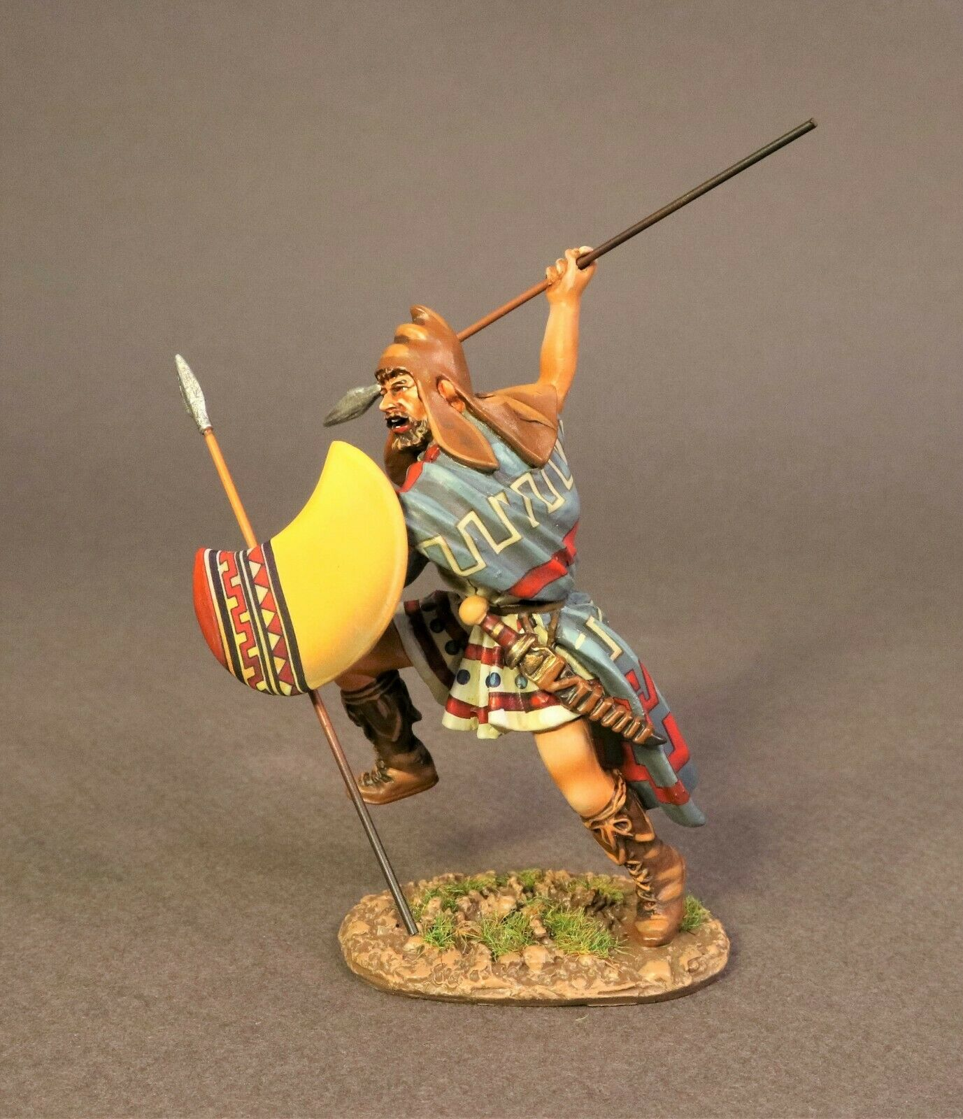 JOHN JENKINS ROMAN EMPIRE AGE OF ARTHUR TH-10A THRACIAN PELTAST MIB