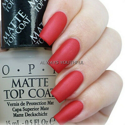 OPI NAIL POLISH Matte Top Coat T35 - Matte About You