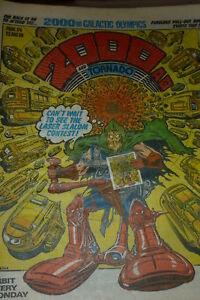 2000-AD-amp-TORNADO-Comic-PROG-No-174-Date-23-08-1980-UK-Paper-Comic