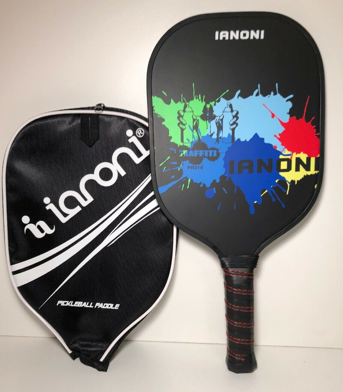 Ianoni Pickleball Paddle PR510 Graphite Composite With Polymer Honeycomb Core