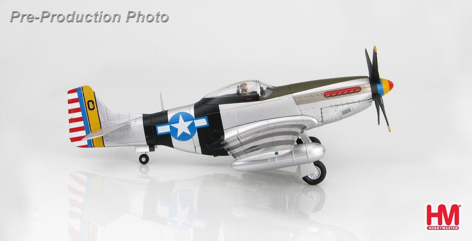 1 48 hobbymaster USAAF P -51K Mustang Bonnie Okinawa HA7738 Metallflygagagplan