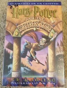Harry-Potter-And-The-Sorcerers-Stone-Audio-Cassette-Tapes-Audiobook-SEALED-NEW