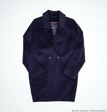 Tommy Hilfiger Italian Special Edition Runway Collection Wool Tapered Coat 8 nwt