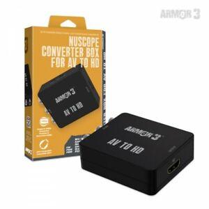 NEW-Armor-3-NuScope-Converter-Box-AV-to-HDMI-HD-Connection-for-NES-SNES-N64-SEGA