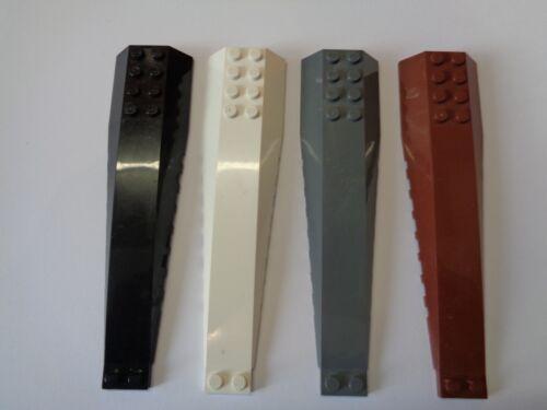 45301 choose color LEGO Aile Capot Vaisseau Wedge 16 x 4 Curved Triple