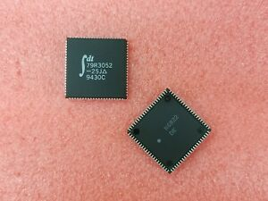 1X-IDT79R3052-25J-32-BIT-25MHz-RISC-PROCESSOR-PLCC84
