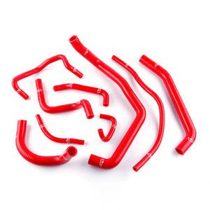 FOR HONDA CBR 954 RR FIREBLADE 2002-2003 CBR954RR SILICONE RADIATOR HOSES RED