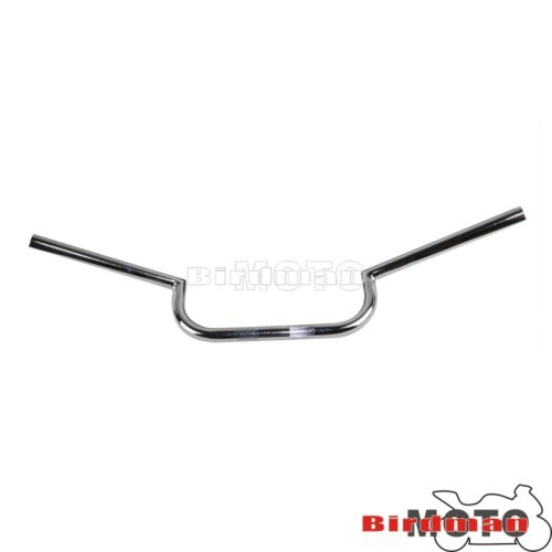 Chrome 25mm Motorcycle Clubman Handlebar Rise For Harley Chopper Dyna Cafe Racer