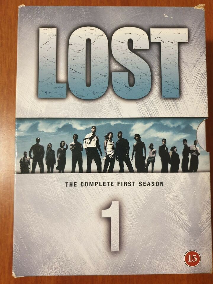 LOST - The Complete First Season (Box-set m/7 Disc,