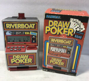 Radica 810 Riverboat Draw Poker Electronic Game Slot ...