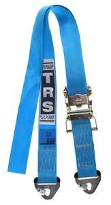 TRS Ratchet Tie Down, 50mm, 2m Long, 1500kg Light Duty Ratchet, Snap Ends