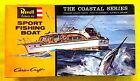 REVELL Kit No. H387-100, Chris Craft SPORT FISHING BOAT, MIB, 100% Complete,1996