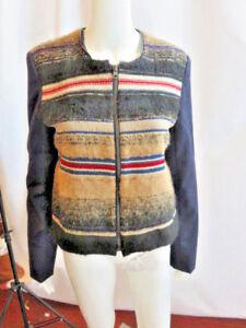 Størrelse Jacket Multicolor Small Burning Torch Sleeve Long WwnXqX0Az