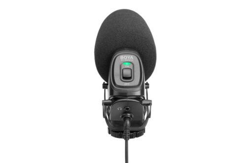 BOYA BY-BM3030 On-Camera Shotgun Microphone Video Mic For Sony SLR Cameras Video