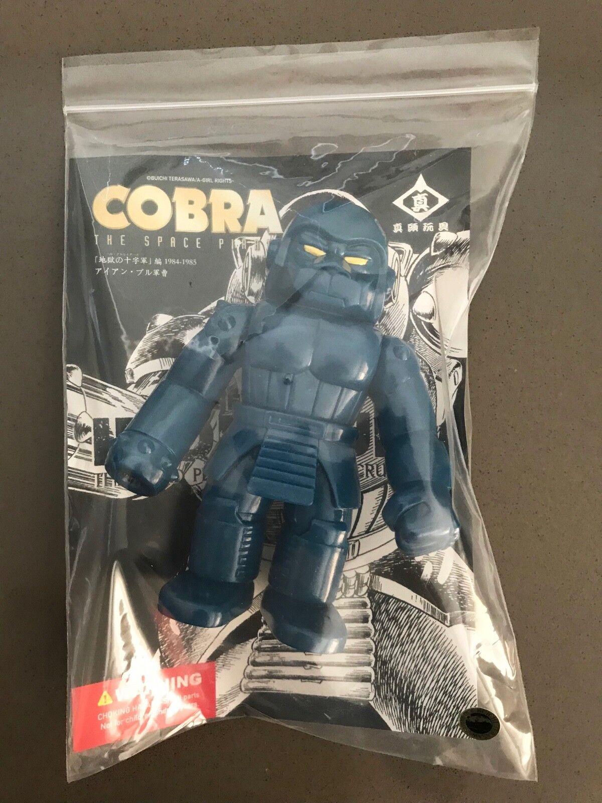 RxH bluee Robo Gorilla Bull Sergeant Cobra - kaiju vinyl RealxHead sofubi ape
