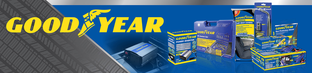 Shop event Up to 25% off Goodyear Car Accessories Goodyear car essentials now up to 25% off.