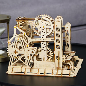 Details about ROKR DIY Marble Run 3D Wooden Puzzle Construction Model Kits  Toy for Adult Teens