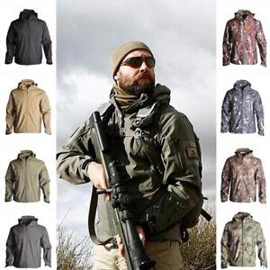 Lurker Shark Skin Soft Shell Men/'s Outdoors Tactical Military Jacket Waterproof