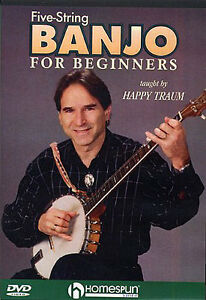 Five-5-String-Banjo-for-Beginners-Happy-Traum-Tutor-DVD