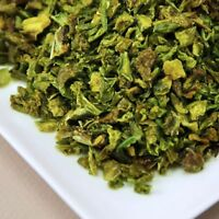 Dried Green Bell Pepper Pieces, Half Pound, Dehydrated