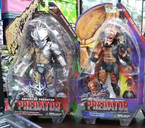 Predators Series 12 Enforcer The Ultimate Alien Hunter Action Figure Model Toy