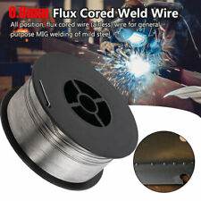 0.8mm//0.031-304 Stainless Steel Gasless Flux-Cored Mig Welding Wire 0.45kg 1Roll