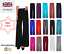 NEW-LADIES-PLUS-SIZE-PLAIN-PALAZZO-TROUSERS-WOMENS-FLARED-WIDE-LEG-PANTS thumbnail 1