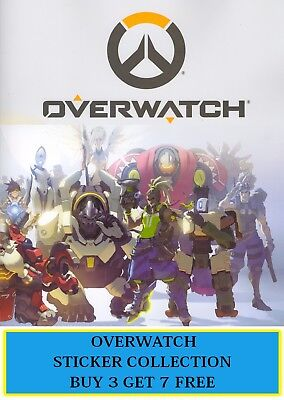 Collectibles Sticker Albums, Packs & Spares Just Toys Overwatch Sticker Collection Choose Your Stickers #145-288