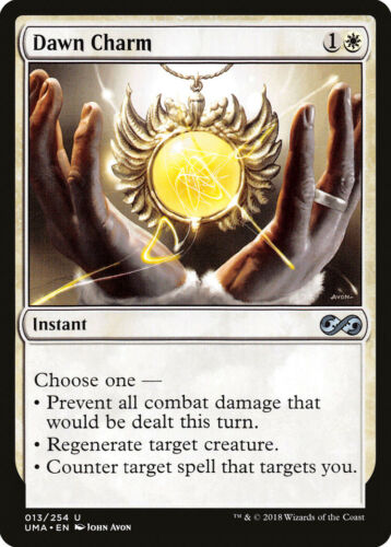 Dawn Charm Ultimate Masters NM White Uncommon MAGIC GATHERING CARD ABUGames