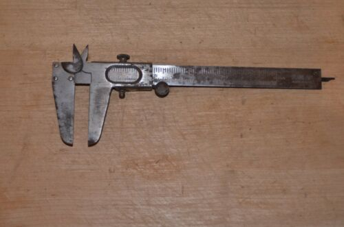 "Vintage Dunlap Caliper MADE IN USA 4022 05"" measuring range machinist tool"