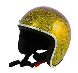Casque-casco-helmet-jet-TORX-WYATT-OR-Taille-S-55-56-CAFE-RACER