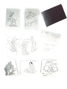 9 Calamite 5x7cm Disegno Da Colorare Eroi Cartoni Animati Feste