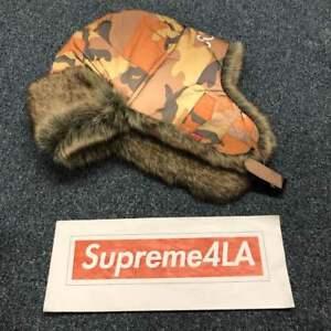 Supreme 18F//W Reflective Camo Trooper Orange Camo 1000/% Authentic