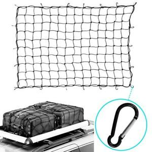 TOOLUXE 6/' x 8/' NYLON BUNGEE PICKUP TRUCK BED CARGO HOLD NET
