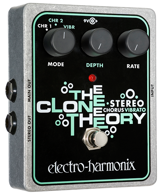 EHX Electro Harmonix Stereo Clone Theory, Brand New in Box