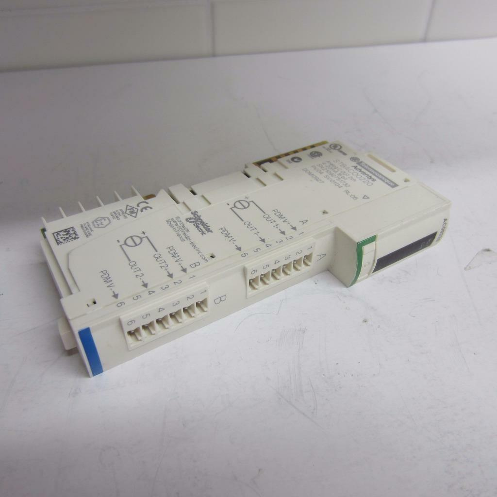 Schneider Electric STBACO0220   STB ACO0220 Advantys STB 2 point, 4-20 mA analog