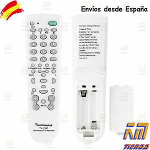 Mando-a-distancia-universal-para-Tv-television-tele-facil-de-usar