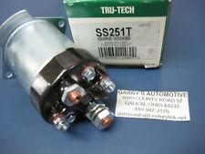 STANDARD SS251T Starter Solenoid-TTR