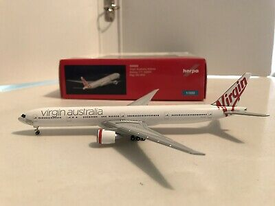 Herpa Wings Virgin Australia Boeing 777-300ER 526593 New 1//500 Reg# VH-VPD