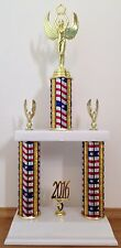 """17-18"""" trophy - Free Engraving - Choice of Sport/Activity/Column Color"""