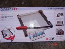 Olympia Vario Duplex 4600 Guillotine & Trimmer