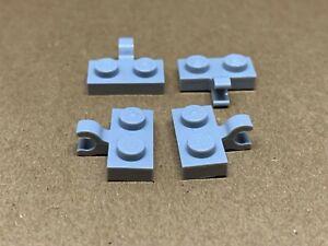 1x2 Black Bricks with Horizontal Clip on side ~ Lego ~ NEW ~ Castle 6