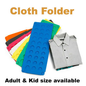 Clothes-T-Shirt-Top-Folder-Magic-Folding-Board-Flip-Fold-Laundry-Organizer
