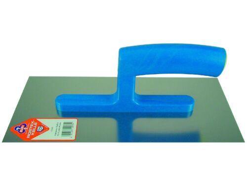 280x130 mm Glättekelle für Gipser Rostfrei mit Kunststoff-Griff