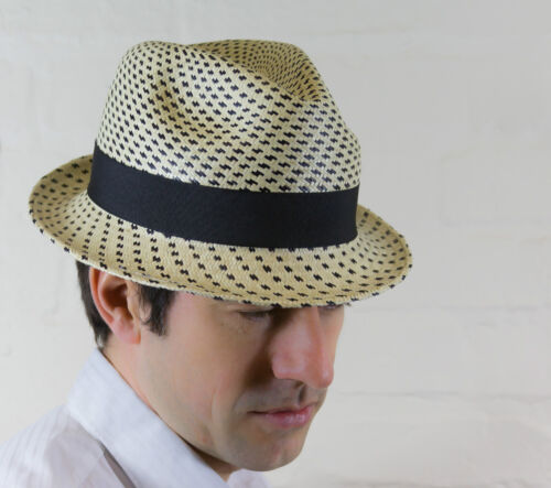 traditional style Panama hat in a variety of colours