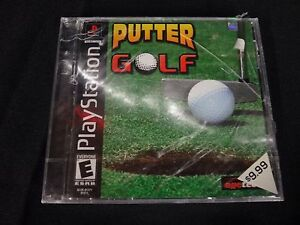 Putter-Golf-Sony-PlayStation-1-2001-Brand-New-Factory-Sealed