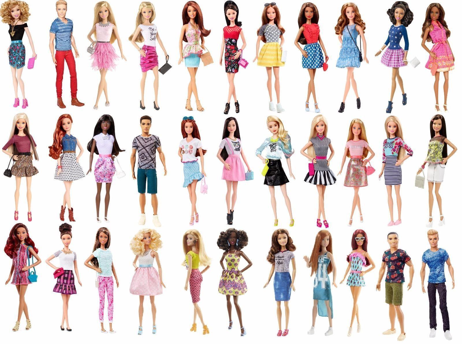 Barbie   FASHIONISTAS    38 dolls  NRFB 2014