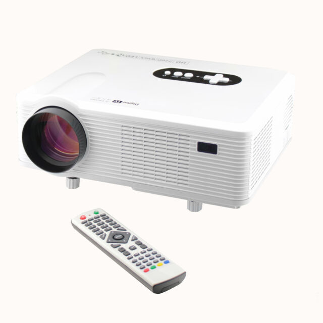 HD LED Video Projector Multimedia Home Theater  Cinema 3000 Lumens 1280*800 USA