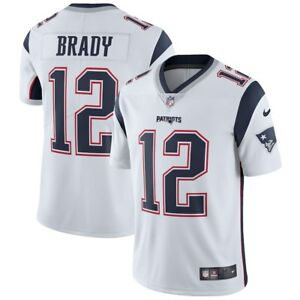 83110b3cf93a4 Tom Brady  12 New England Patriots Men s White Road Game Jersey