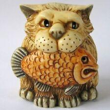 Casper - Pot Bellys - NIB - Castaways Cat Figurine - Martin Perry Studios